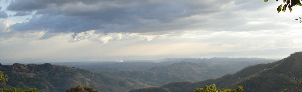 Clouds out over the Gulf of Nicoya
